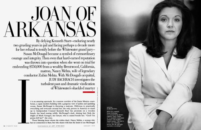 Article Preview: JOAN OF ARKANSAS, January 1999 | Vanity Fair