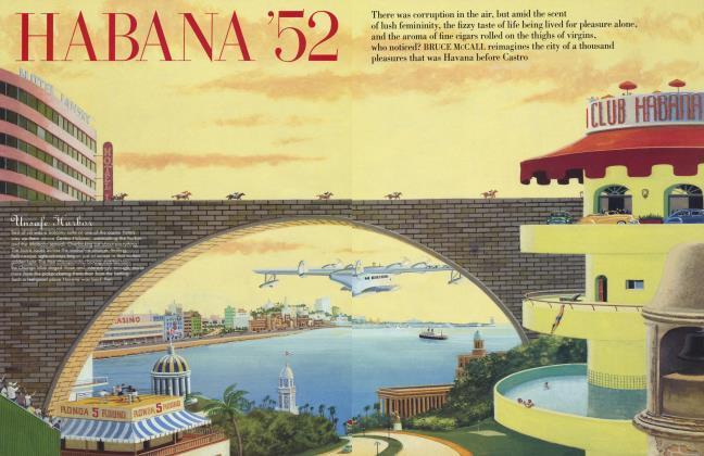 Article Preview: HABANA '52, January 1999 1999 | Vanity Fair