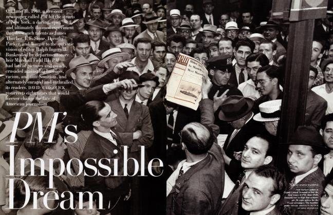 Article Preview: PM's Impossible Dream, January 1999 | Vanity Fair