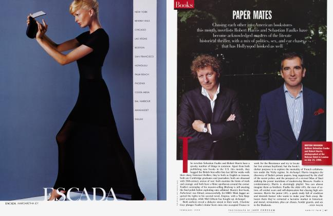 Article Preview: PAPER MATES, February 1999 1999 | Vanity Fair