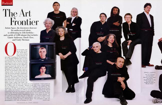 Article Preview: The Art Frontier, February 1999 1999 | Vanity Fair