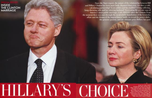 Article Preview: HILLARY'S CHOICE, February 1999 | Vanity Fair