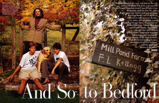 Article Preview: And So to Bedford, February 1999 | Vanity Fair