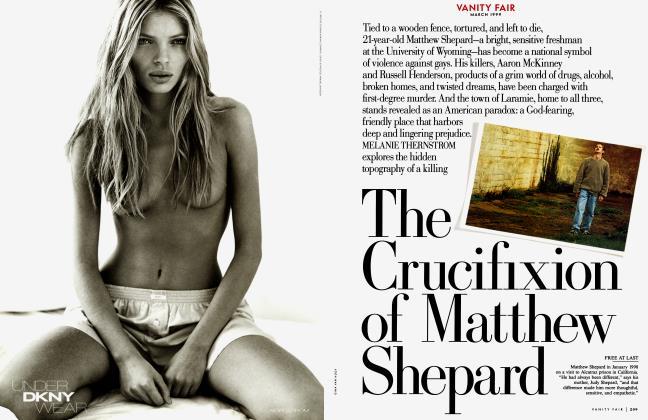 The Crucifixion of Matthew Shepard