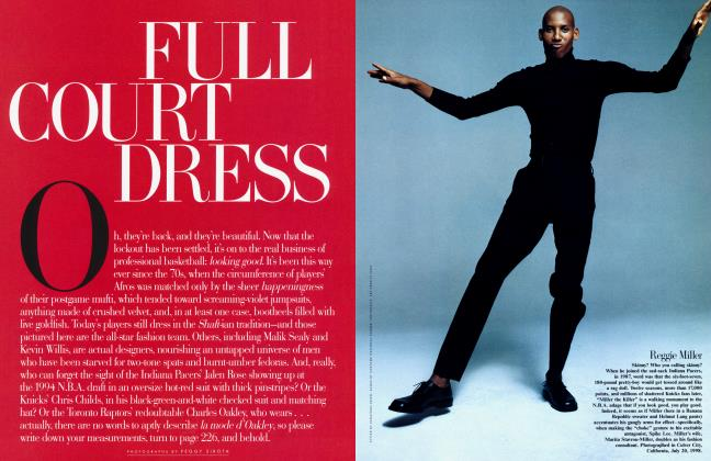 Article Preview: FULL COURT DRESS, March 1999 1999 | Vanity Fair