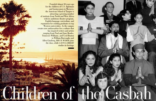 Article Preview: Children of the Casbah, March 1999 1999 | Vanity Fair