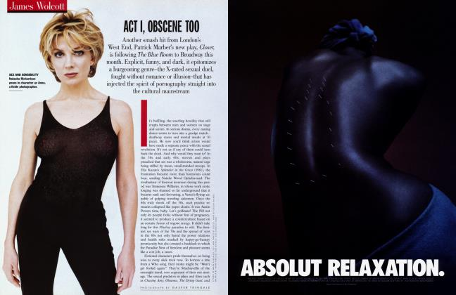 Article Preview: ACT I, OBSCENE TOO, March 1999 1999 | Vanity Fair