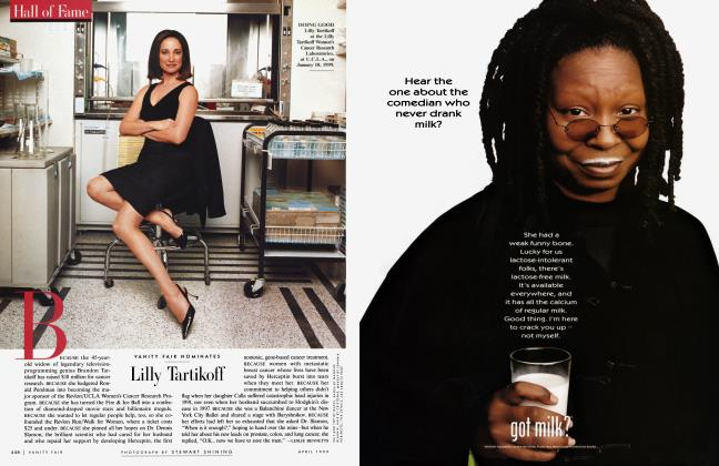 Article Preview: Lilly Tartikoff, April 1999 1999   Vanity Fair