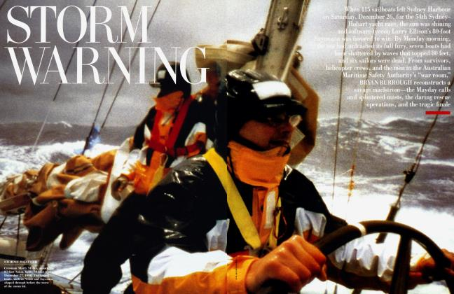 Article Preview: STORM WARNING, May 1999 | Vanity Fair