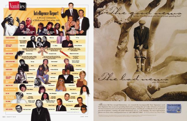 Article Preview: Intelligence Report, June 1999 1999 | Vanity Fair