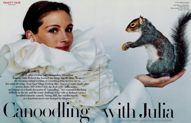 Article Preview: Canoodling with Julia, June 1999 1999 | Vanity Fair
