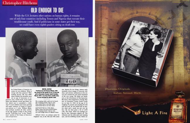 Article Preview: OLD ENOUGH TO DIE, June 1999 1999 | Vanity Fair