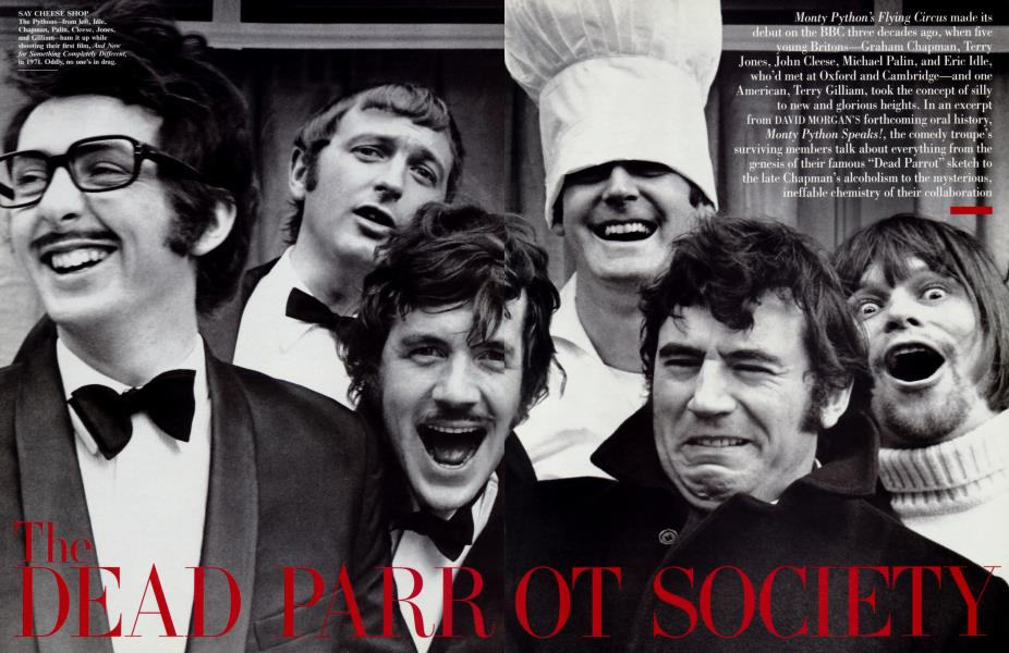 THE DEAD PARROT SOCIETY