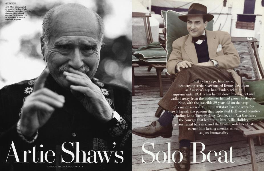 Artie Shaw's Solo Beat