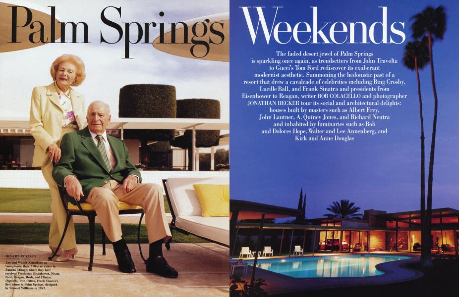 Palm Springs Weekends