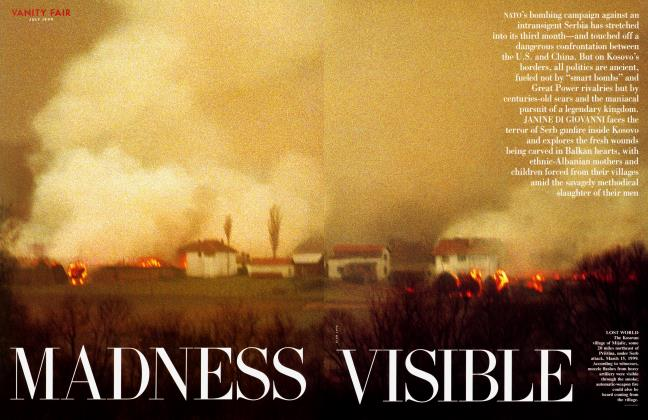 Article Preview: MADNESS VISIBLE, July 1999 1999 | Vanity Fair