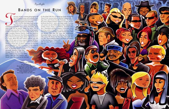 Article Preview: BANDS ON THE RUN, July 1999 1999 | Vanity Fair