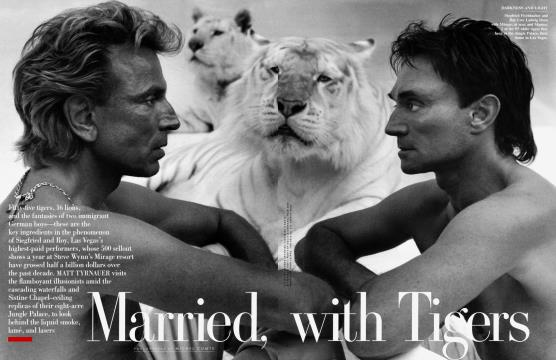 Married, with Tigers - August | Vanity Fair