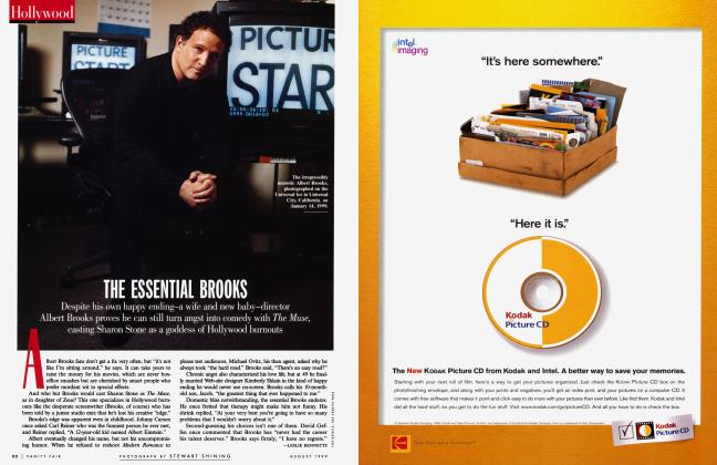 Article Preview: THE ESSENTIAL BROOKS, August 1999 1999 | Vanity Fair