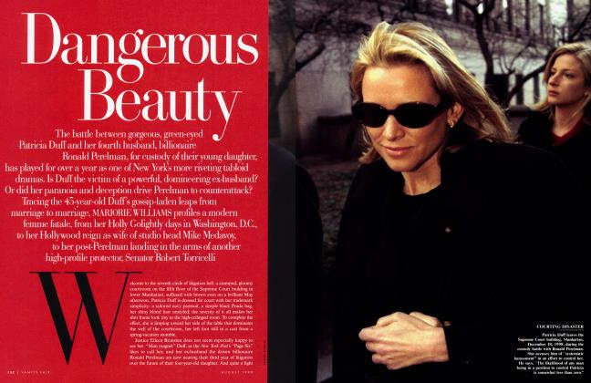 Article Preview: Dangerous Beauty, August 1999 1999 | Vanity Fair