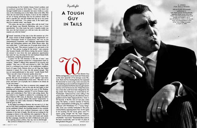 Article Preview: A TOUGH GUY IN TAILS, August 1999 1999 | Vanity Fair