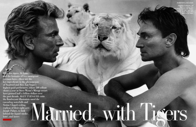 Article Preview: Married, with Tigers, August 1999 1999 | Vanity Fair