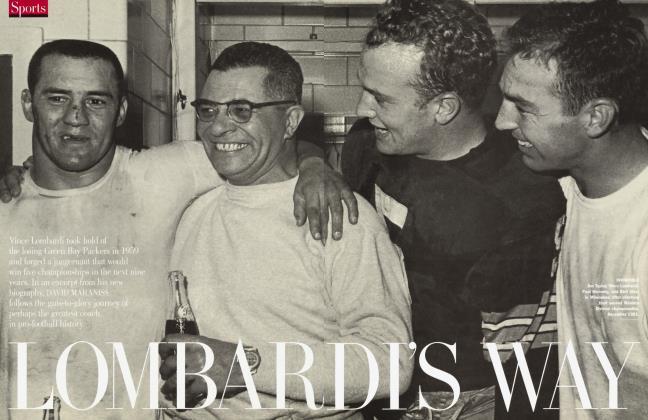 Article Preview: LOMBARDI'S WAY, September 1999 1999 | Vanity Fair