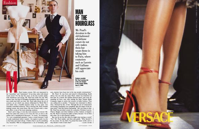 Article Preview: MAN OF THE HOURGLASS, September 1999 1999 | Vanity Fair