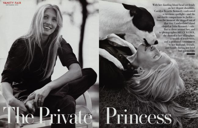Article Preview: The Private Princess, September 1999 1999 | Vanity Fair