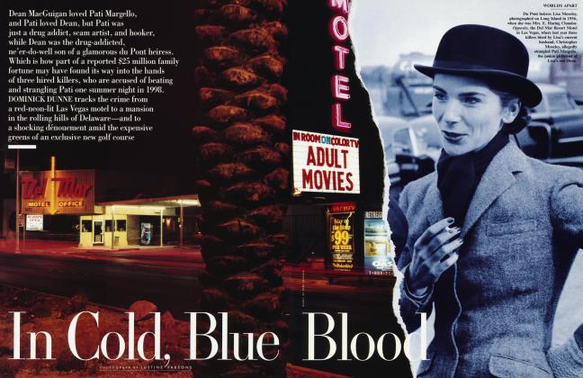 Article Preview: In Cold, Blue Blood, September 1999 1999 | Vanity Fair