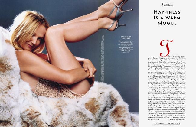 Article Preview: HAPPINESS Is A WARM MOGUL, September 1999 1999 | Vanity Fair