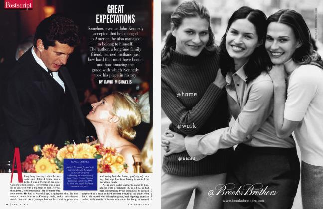Article Preview: GREAT EXPECTATIONS, September 1999 1999 | Vanity Fair