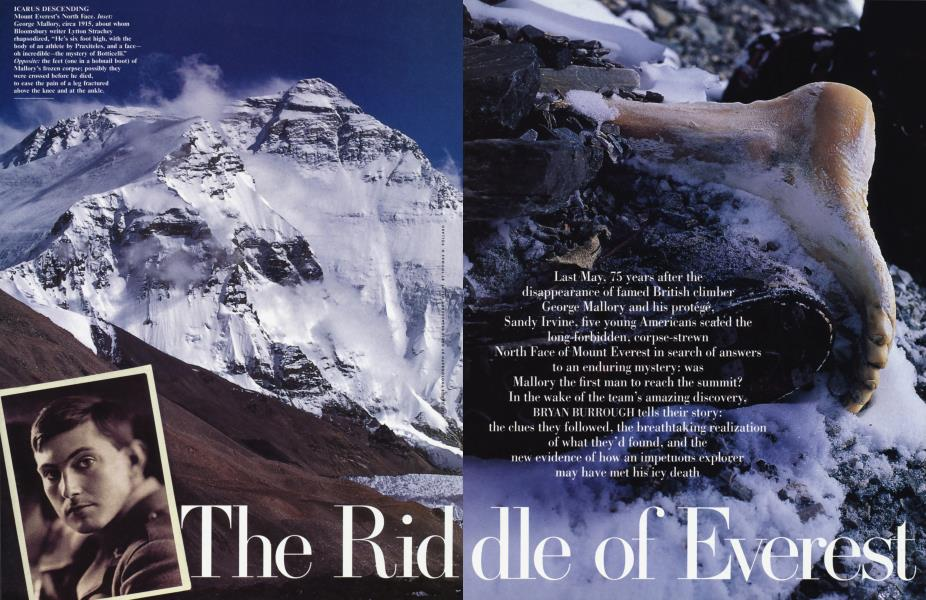 The Ridle of Everest