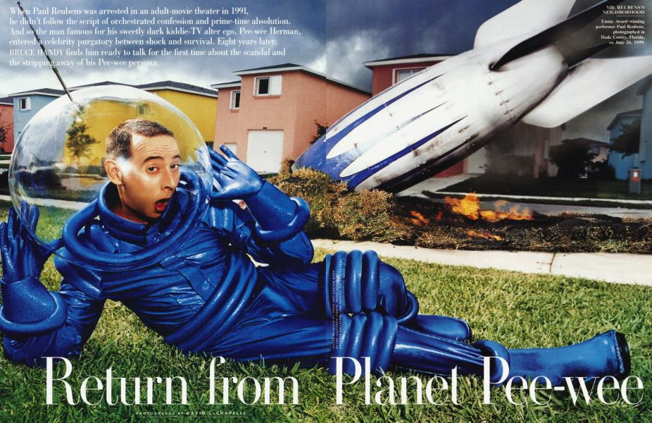 Return from Planet Pee-Wee