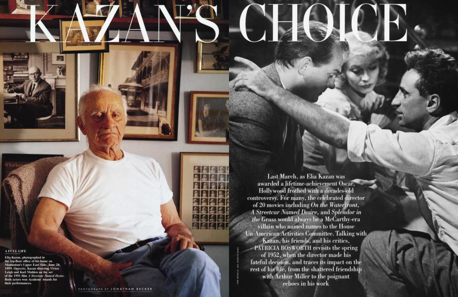 KAZAN'S CHOICE