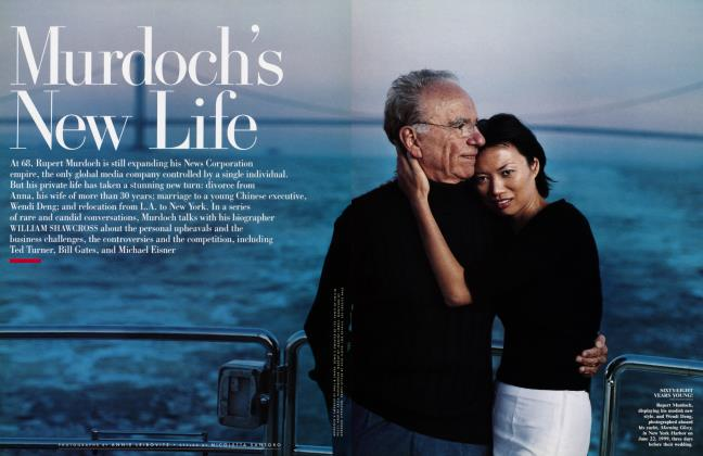 Article Preview: Murdoch's New Life, October 1999 | Vanity Fair