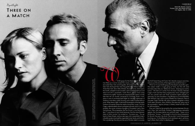 Article Preview: THREE ON A MATCH, October 1999 1999   Vanity Fair