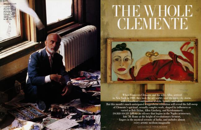 Article Preview: THE WHOLE CLEMENTE, October 1999 | Vanity Fair