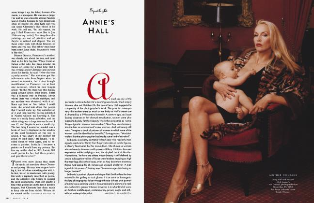 Article Preview: ANNIE'S HALL, October 1999 1999 | Vanity Fair