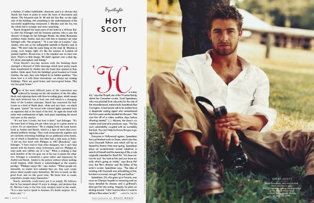 Article Preview: HOT SCOTT, October 1999 1999 | Vanity Fair