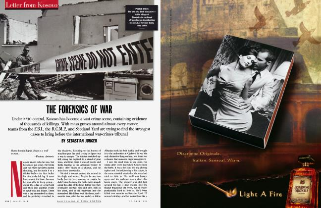 Article Preview: THE FORENSICS OF WAR, October 1999 | Vanity Fair