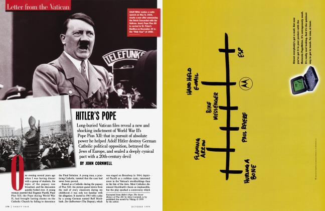Article Preview: HITLER'S POPE, October 1999 | Vanity Fair