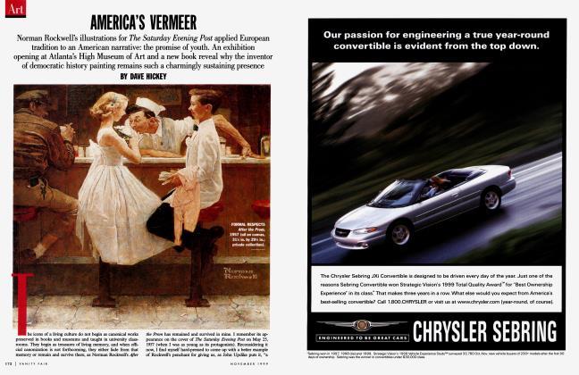 Article Preview: AMERICA'S VERMEER, November 1999 1999 | Vanity Fair
