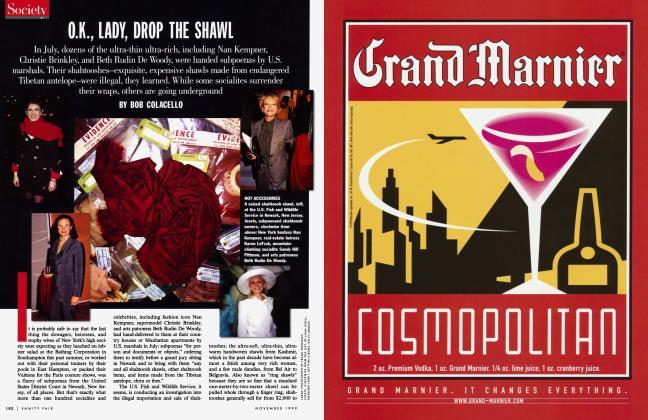 Article Preview: O.K., LADY, DROP THE SHAWL, November 1999 1999 | Vanity Fair