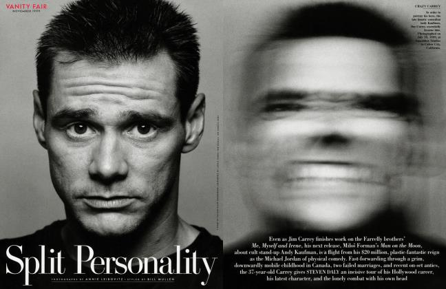 Article Preview: Split Personality, November 1999 1999 | Vanity Fair