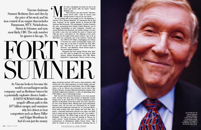 Article Preview: FORT SUMNER, November 1999 1999 | Vanity Fair