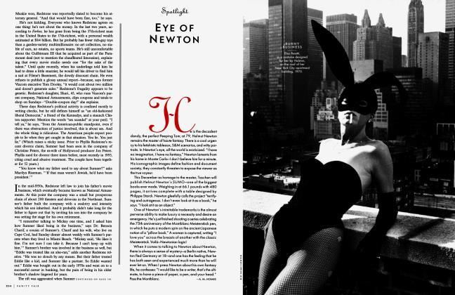 Article Preview: EYE OF NEWTON, November 1999 1999 | Vanity Fair