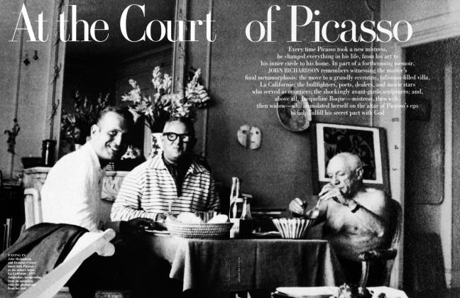 Article Preview: At the Court of Picasso, November 1999 | Vanity Fair
