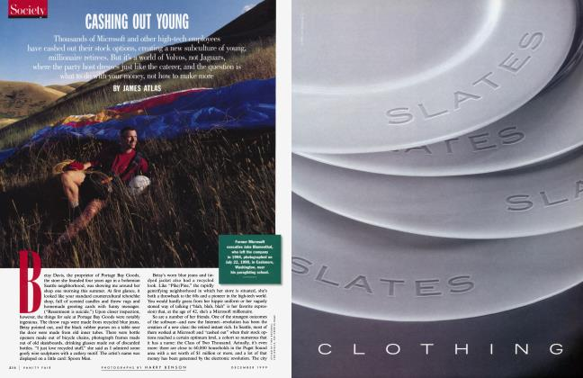 Article Preview: CASHING OUT YOUNG, December 1999 | Vanity Fair