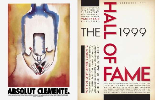 Article Preview: THE 1999 HALL OF FAME, December 1999 1999 | Vanity Fair